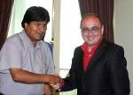 Evo Morales. Presidente de Bolivia