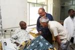 En un hospital de Etiopía con el Premio Vasco al Cooperante