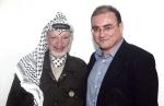 Yasser Arafat. Presidente de la Organización para la Liberación de Palestina