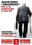 No a la Jubilación a los 67