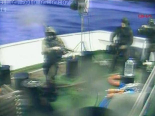 """Ataque a """"La Flotilla la Libertad"""""""
