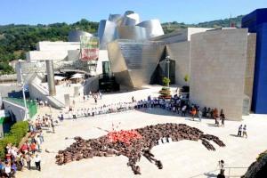 Concentración antitaurina en Bilbao